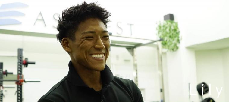 笑顔の小野瀬さん