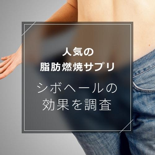 おすすめ脂肪燃焼サプリ「シボヘール」の効果とメカニズムを調査!のイメージ