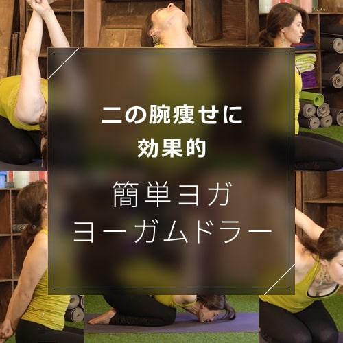 ヨーガムドラーで肩回りと二の腕のシェイプアップを狙う!効果的なやり方を動画で紹介のイメージ